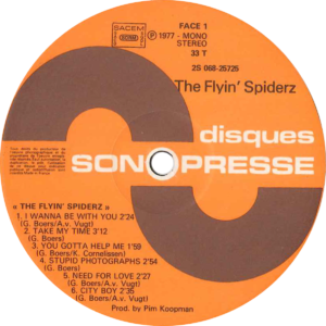 The flyin' spiderz - The flyin' spiderz / France