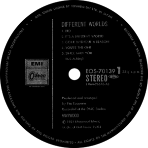 Maywood - Different worlds / Japan 2
