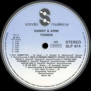 Danny & Armi - Toinen / Finland