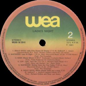 Various - Ladies night (We love you) / NL