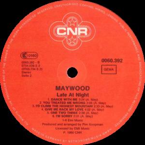 Maywood - Late at night / Germany