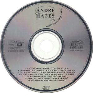 André Hazes - Met heel mijn hart / NL
