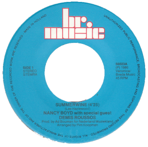 Nancy Boyd - Summerwine