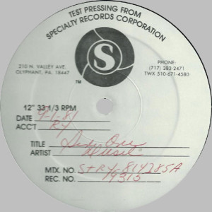 Watts in a tank testpressing