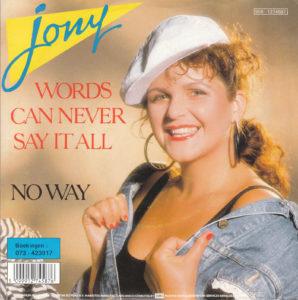 Jony - Words can never say it all / NL 2