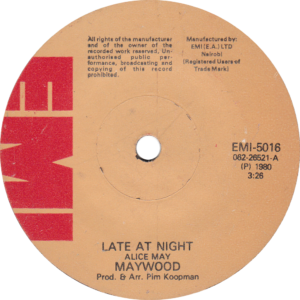 Maywood - Late at night / Kenia