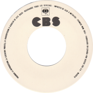 Time bandits - I'm specialized in you / Spain White label promo