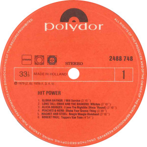Hitpower - Various / NL