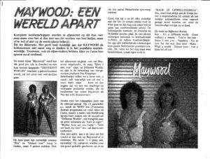 Maywood - Different worlds / NL EMIX Artikel