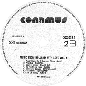 Music from Holland with love - Vol.10 / NL