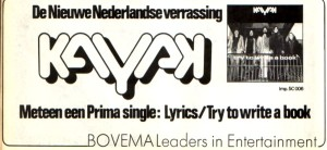 Kayak 1973 advertentie maart Veronica Magazine