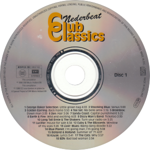 Nederbeat club classics cd 1