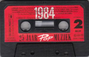 25 jaar popmuziek 1984 - Cassette - NL