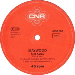 Maywood - Get away / Germany