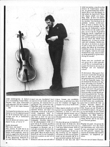 Pim Koopman - Music Maker april 1982