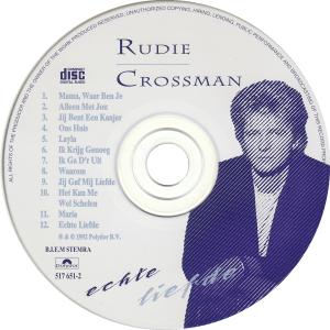 Rudie Crossman - Echte liefde / NL