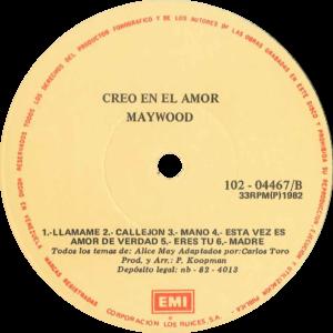Maywood - Creo en el amor