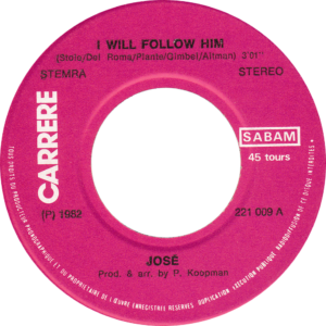 José - I will follow him / Belgium (different credits)