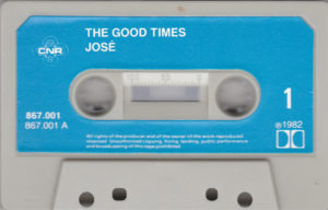 José - The good times / Cassette NL