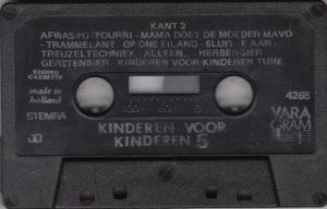 Kinderen voor kinderen - Deel 5 / Cassette NL