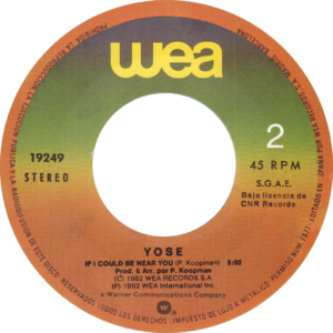 Yosé - I will follow him / Spain