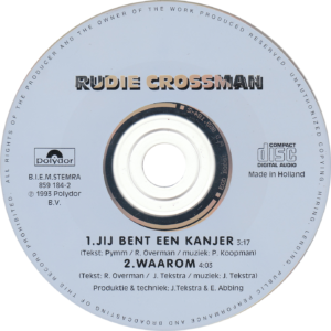 Rudie Crossman - Jij bent een kanjer / NL