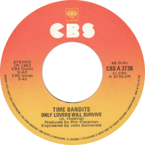 Time bandits - I'm only shooting love / Italy
