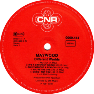 Maywood - Different worlds / Germany