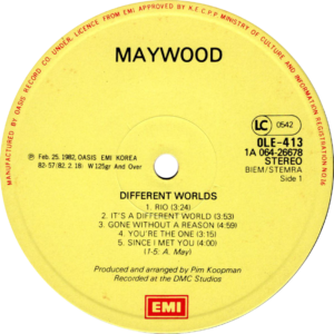 Maywood - Different worlds / Korea