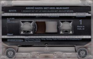 André Hazes - Met heel mijn hart / NL cassette