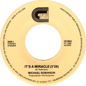 Michael Robinson - It's a miracle / NL