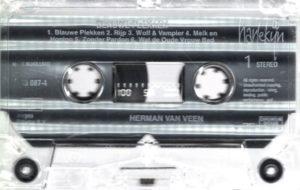 Herman van Veen - Blauwe Plekken / NL cassette