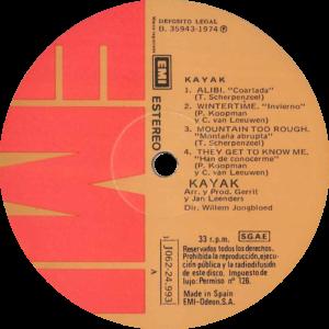 Kayak - Kayak II / Spain