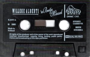 Willeke Alberti - 'n Beetje Mazzel / NL cassette