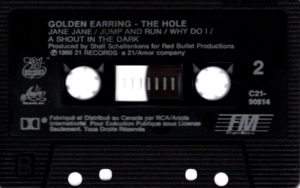 Golden Earring - The Hole / Canada cassette