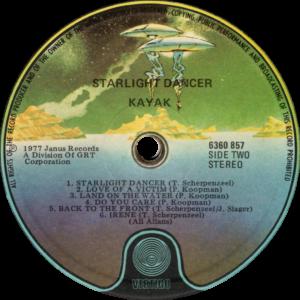 Kayak - Starlight dancer / New Zealand