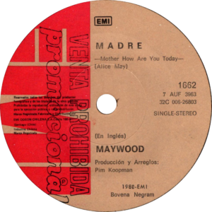 Maywood - Madre / Chile Promo