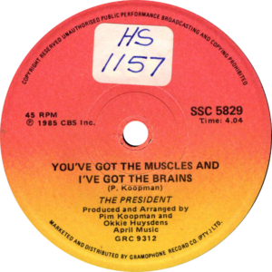 The President - You've got the muscles and i've got the brains / South-Africa