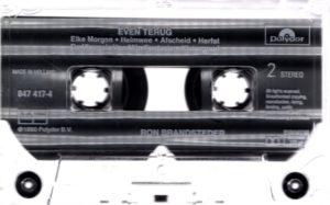 Ron Brandsteder - Even Terug / NL cassette