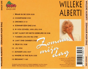 Willeke Alberti - Zomaar mijn dag / NL
