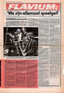 Articles - Flavium - Oor nr. 24 - 28 november 1979