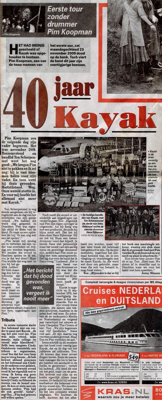 Telegraaf 4-6 2012
