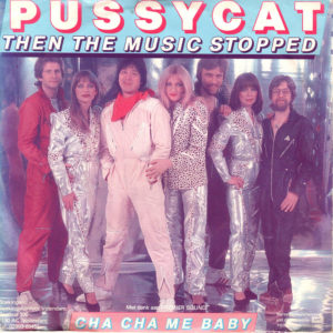 Pussycat - Then the music stopped / NL Red sleeve variation