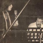 Lucy Steymel met Pim Koopman 1982