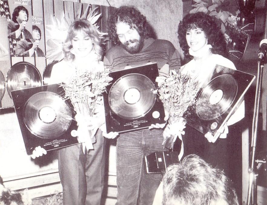 Pim Koopman & Maywood Goud '' Different worlds '' 4 januari 1982
