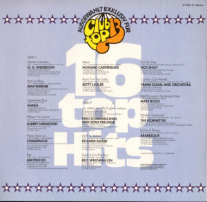16 Top hits november / dezember 1981 (Maywood-Rio)