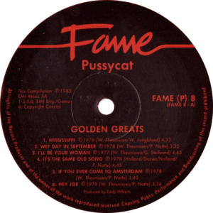 Pussycat - Golden greats / South Africa