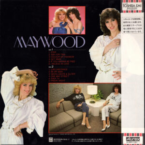 Maywood - Colour my rainbow / Japan