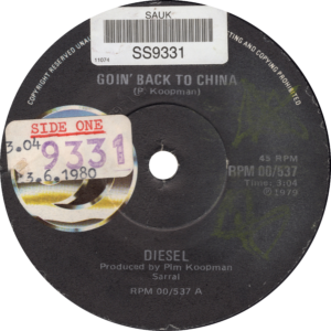 Diesel - Goin' back to China / South-Africa
