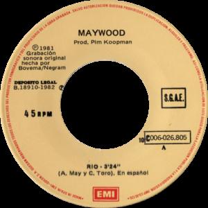 Maywood - Rio / Spanje 1